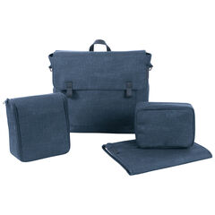 Sac à langer nomade Modern bag - Bleu