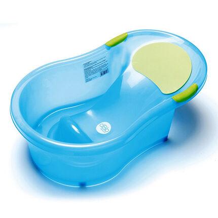 Baignoire avec transat intégré 0/6 mois - Bleu
