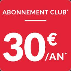 Abonnement 30€ 2019