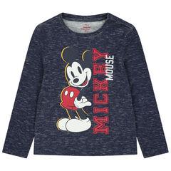 T-shirt manches longues chiné print Mickey Disney , Orchestra
