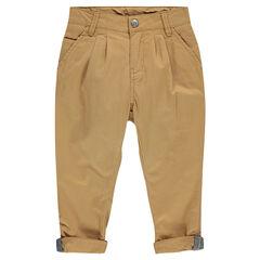 Junior - Pantalon chino à chevrons