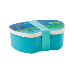 Lunchbox en bamboo - Bleu/Vert
