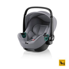 Siège-auto Baby Safe 3 i-Size + Base Flex iSense – Frost Grey , Britax Romer