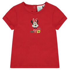 Tee-shirt manches courtes Disney print Minnie