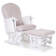 Housse éponge pour fauteuil d'allaitement - Gris