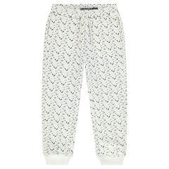 Pantalon de jogging en molleton imprimé all-over