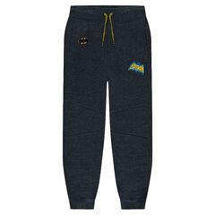 Pantalon en molleton avec badges BATMAN