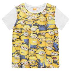 Tee-shirt manches courtes print Minions