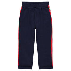 Junior - Pantalon de jogging avec bandes appliquées sur les côtés