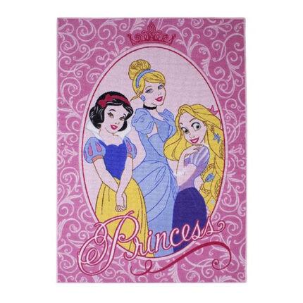 Tapis déco princesse - 95x133 cm