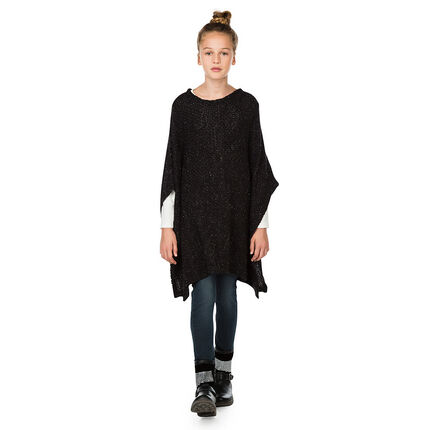 Junior - Pull long coupe poncho