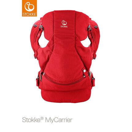 Porte-bébé ventral et dorsal MyCarrier – Rouge