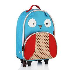 Sac valise à roulettes Zoo - Hibou