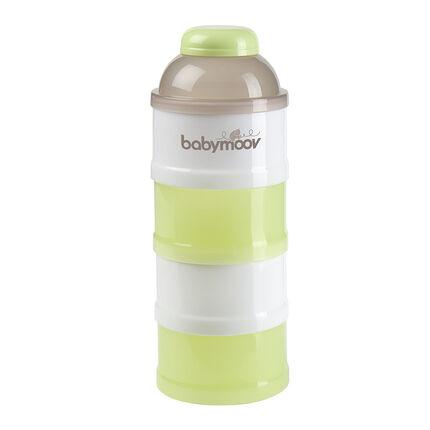 Doseur pour lait en poudre Babydose - Vert amande/Taupe