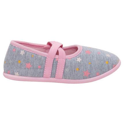 Chaussons babies avec étoiles printées all-over du 28