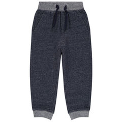 Pantalon de jogging chiné