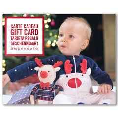 La E-carte cadeau Orchestra bebeNoel