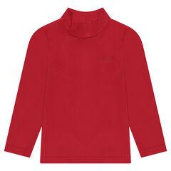 Sous-pull en jersey avec col cheminée
