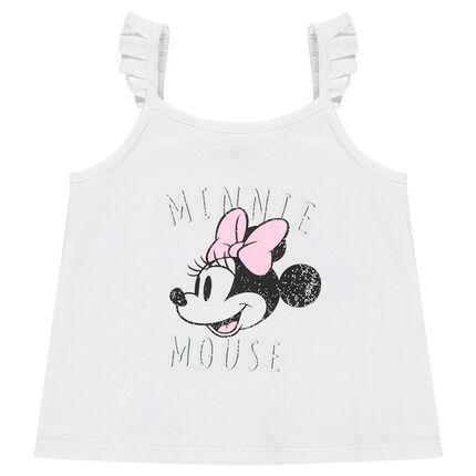 Débardeur en jersey avec Minnie printée Disney