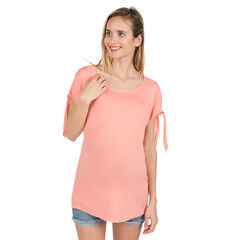 Tunique de grossesse avec épaules ajourées