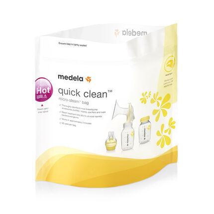 Sachets de stérilisation pour micro-ondes - Quick Clean
