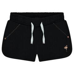 Junior - Short en molleton uni