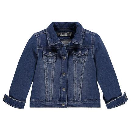 Junior - Veste en molleton effet jeans
