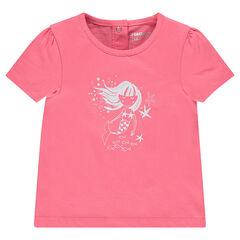 3b0195e0ecbac Tee-shirt manches courtes print fantaisie