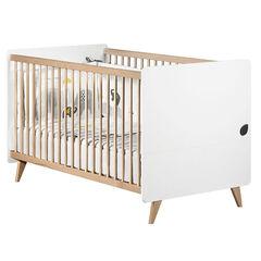 Little Big Bed Oslo 70 x 140 cm - Blanc  , Sauthon