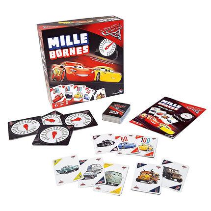 Jeu de société Mille Bornes - Edition Cars 3