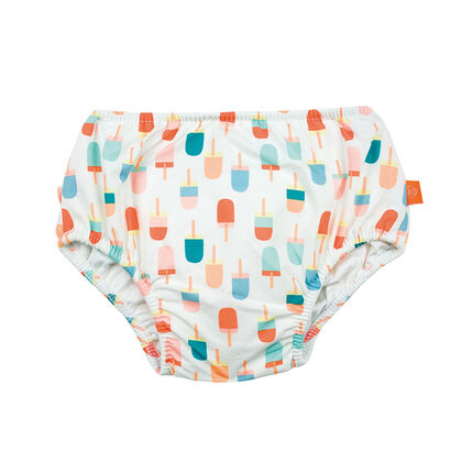 Maillot de bain couche imprimé glaces - 6 mois