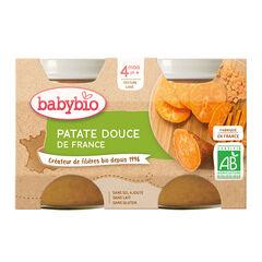 Petit pot patate douce bio - 2x130g