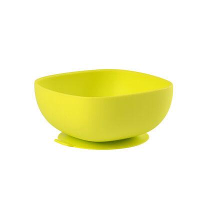 Bol en silicone avec ventouse – Vert