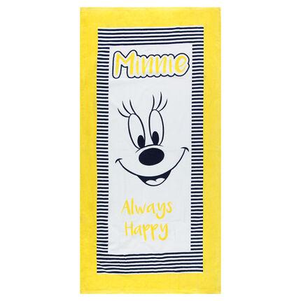 Serviette de plage avec print Minnie Disney