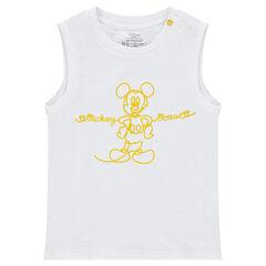 Débardeur en jersey uni ©Disney print Mickey