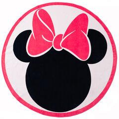 Serviette ronde en éponge motif Minnie Disney , Orchestra