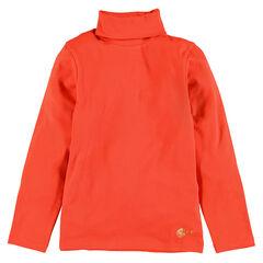 Junior - Sous-pull col roulé en coton stretch