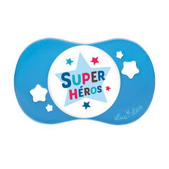 Sucette symétrique +18 mois – Super héros