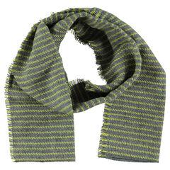 Chèche en tricot rayé