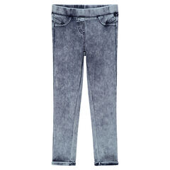 Junior - Jegging en denim like effet used