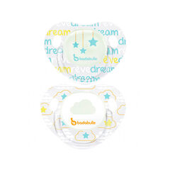 Lot de 2 sucettes phosphorescentes Cloud dream - 0/6 mois