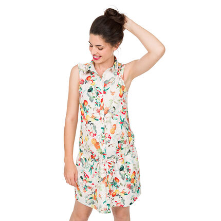 Robe de grossesse avec imprimé fruits all-over