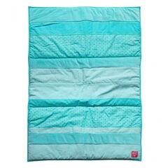 Edredon bleu - 80 x 125 cm