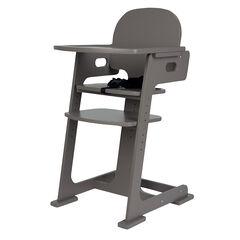 Chaise haute évolutive - Taupe