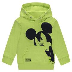 Sweat en molleton avec print Mickey
