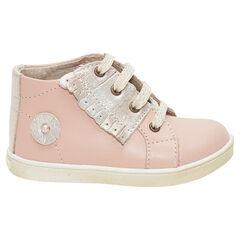 15c997f321c63 chaussures premiers pas - chaussures bébé fille de marche - Orchestra