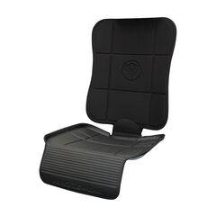 Protection de siège 2 en 1 - Noir/Gris
