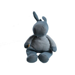 Peluche Paco 25 cm en coton Bio - Bleu , Noukies