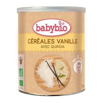 Céréales infantiles bio quinoa et vanille