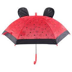 Parapluie avec sertis Mickey et oreilles en relief